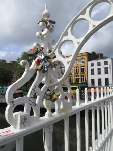 Locks of Love on the Liffey