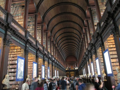 In this library there is one copy of every book ever published in Ireland