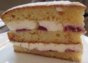 Victoria Cream at Artisan Bakery Hexham