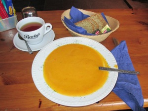 Vegetable Soup in Portmagee, IE
